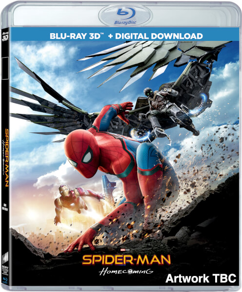 Spider man homecoming 3d includes 2d version comic - Lecteur blue ray mural ...