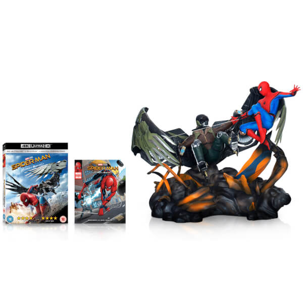 Spider-Man Homecoming - 4K Ultra HD - Figurine + Comic Book