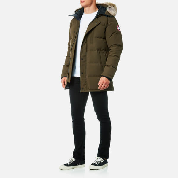Canada Goose Men's Carson Parka Jacket - Military Green: Image 3