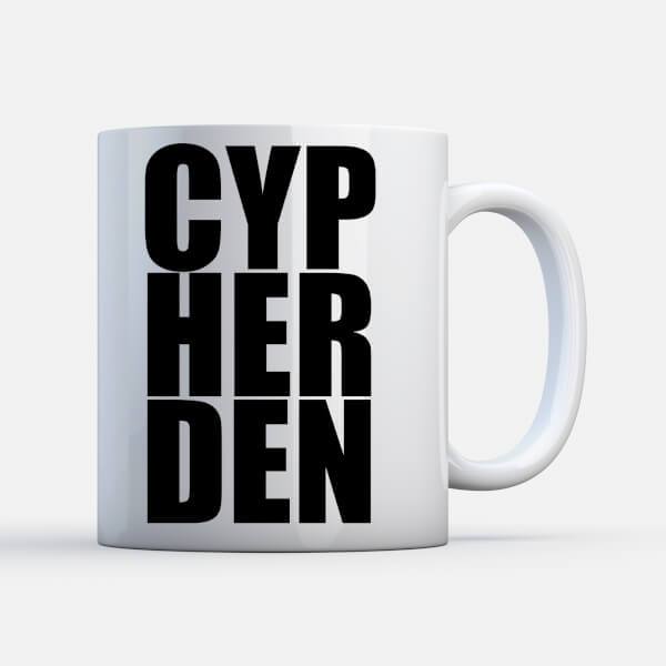 Cypherden Sup? White Mug