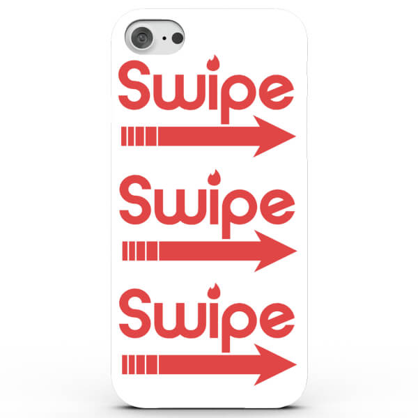Swipe Right Phone Case for iPhone & Android - 4 Colours