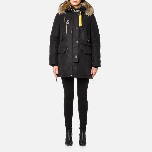 Parajumpers Women's Kodiak Masterpiece Coat - Black: Image 1