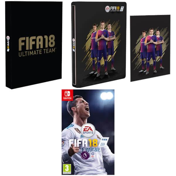 FIFA 18 Exclusive Steelbook and Artcard Edition