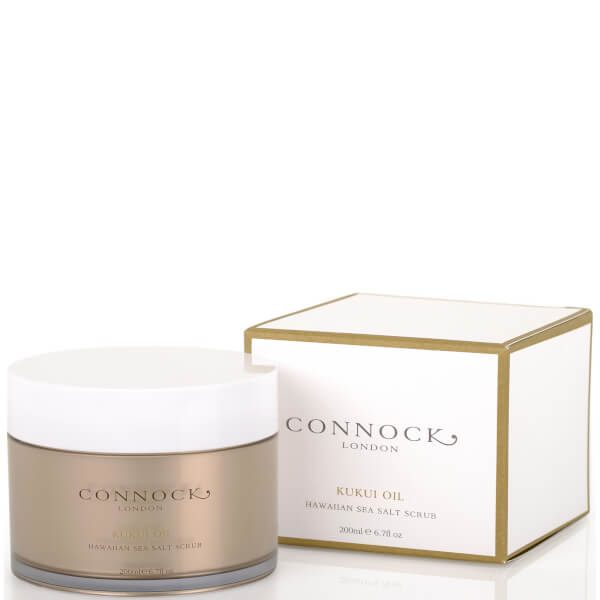 Connock London Kukui Oil Hawaiian Sea Salt Scrub 200ml