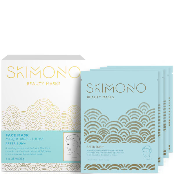 Skimono Beauty Face Mask for After Sun 4 x 25ml