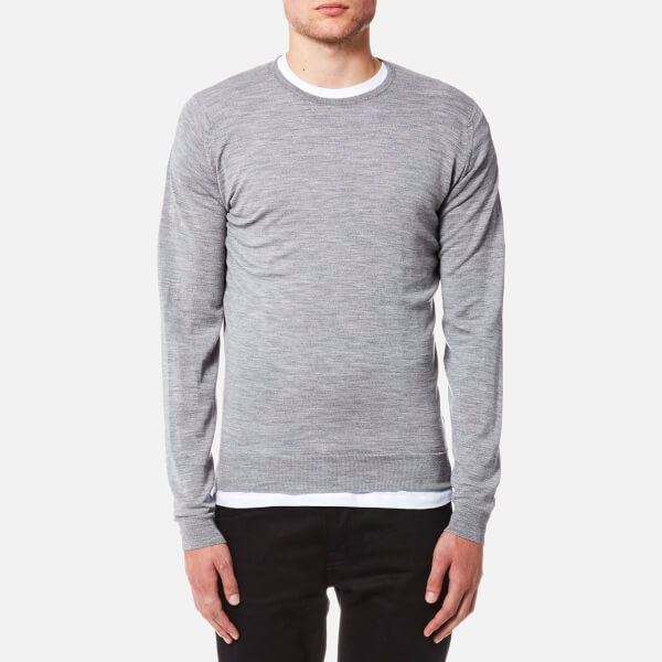 Outlet With Paypal crew neck jumper - Grey John Smedley Cheap Sale New txnP9M6eVq