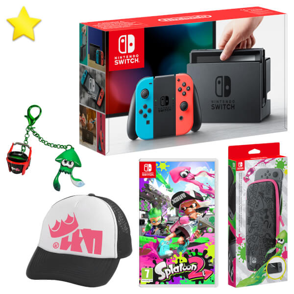 Nintendo Switch Squid Kid Pack