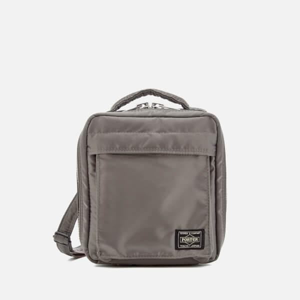 Porter-Yoshida & Co. Men's Tanker Shoulder Bag - Grey