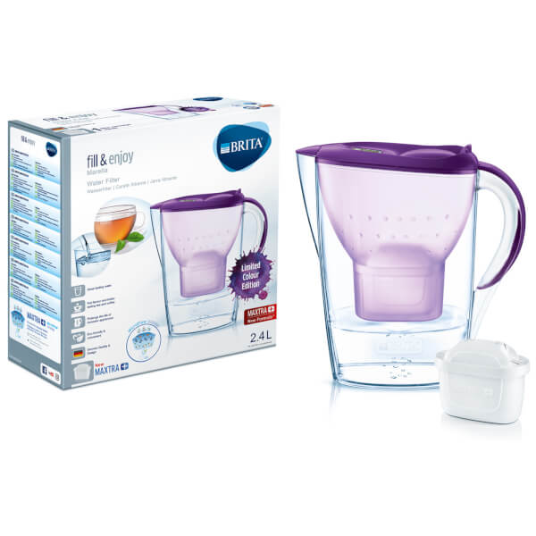 BRITA Maxtra+ Marella Cool Water Filter Jug (Limited Edition) - Purple