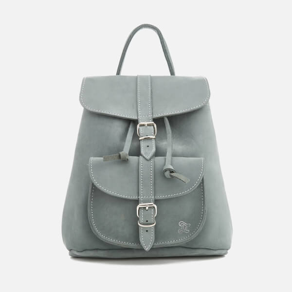 0cd063efad Grafea Women s Elizabeth Small Nubuck Backpack - Arctic Grey  Image 1