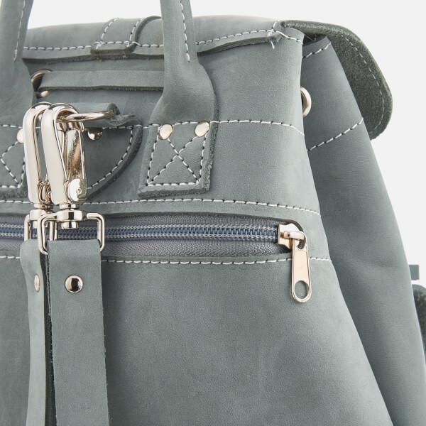 0005099d4d Grafea Women s Elizabeth Small Nubuck Backpack - Arctic Grey  Image 5