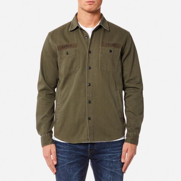 Edwin Men's Labour 4 Pockets Shirt - Military Green