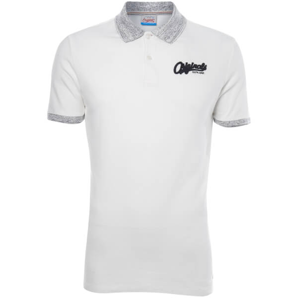 Jack & Jones Men's Originals Authentic Polo Shirt - Cloud Dancer