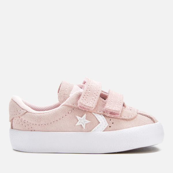 dbd6cf69aa36 Converse Toddlers  Breakpoint 2V Suede Ox Trainers - Arctic Pink Arctic Pink White