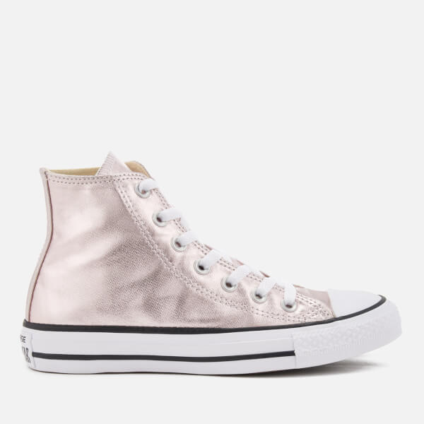 398469d4168957 Converse Women s Chuck Taylor All Star Hi-Top Trainers - Rose Quartz ...