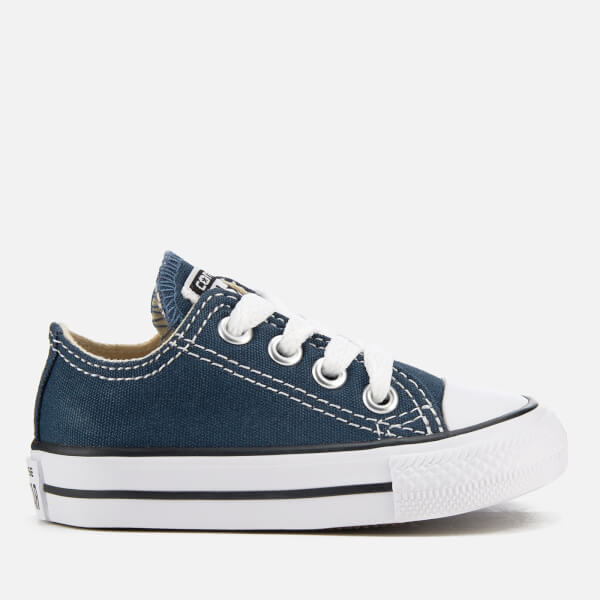 Converse Toddlers  Chuck Taylor All Star Ox Trainers - Navy  c1236fa01