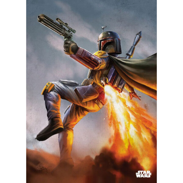 Star Wars Metal Poster - Episode IV Boba Fett (68 x 48cm)