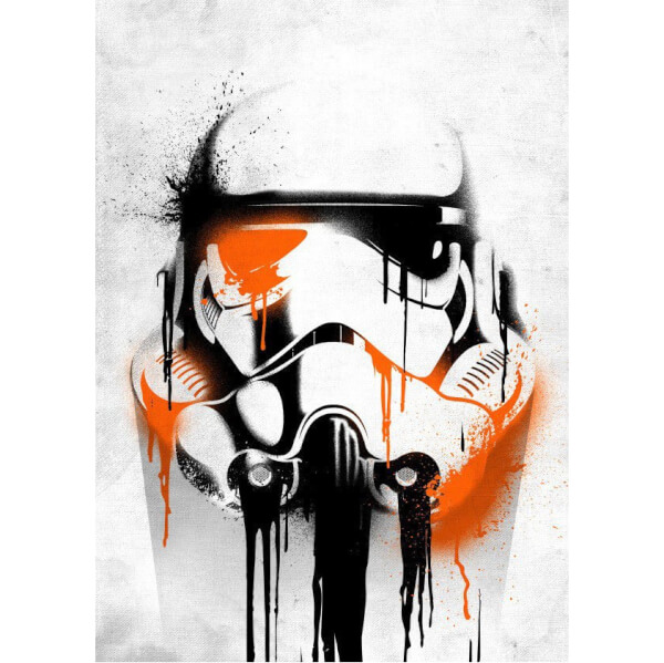 Star Wars Metal Poster - Masked Troopers Banksy (68 x 48cm)