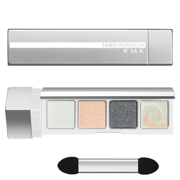 RMK FFFuture Eyeshadow Palette - Fu Silk Satin White 2.8g