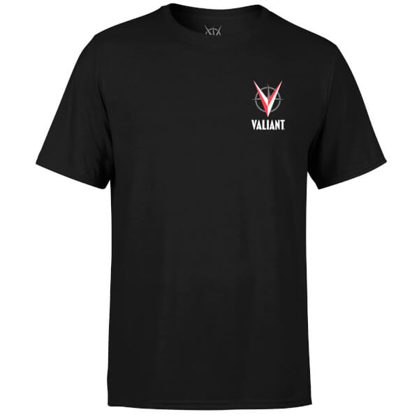 Valiant Comics Logo Pocket T-Shirt - Black