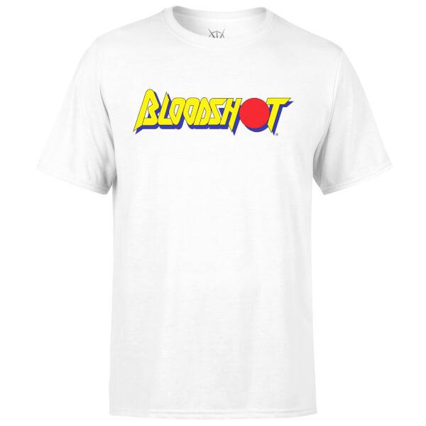 Valiant Comics Classic Bloodshot Logo T-Shirt - White