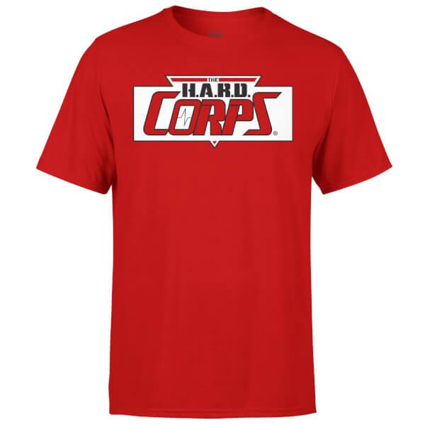 Valiant Comics Classic Hard Corps Logo T-Shirt - Red