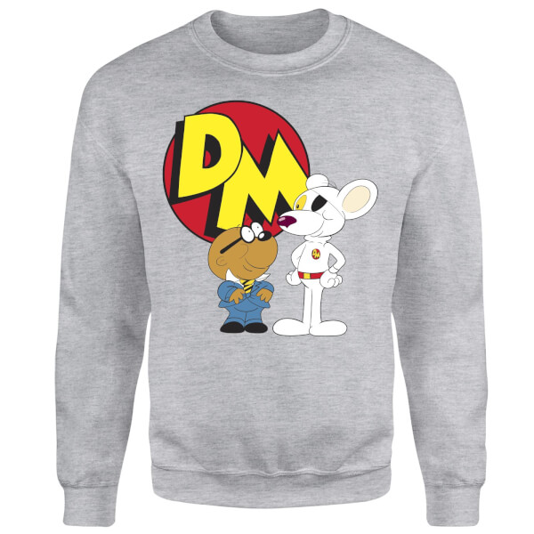 Danger Mouse Penfold and Danger Mouse Sweatshirt - Grey