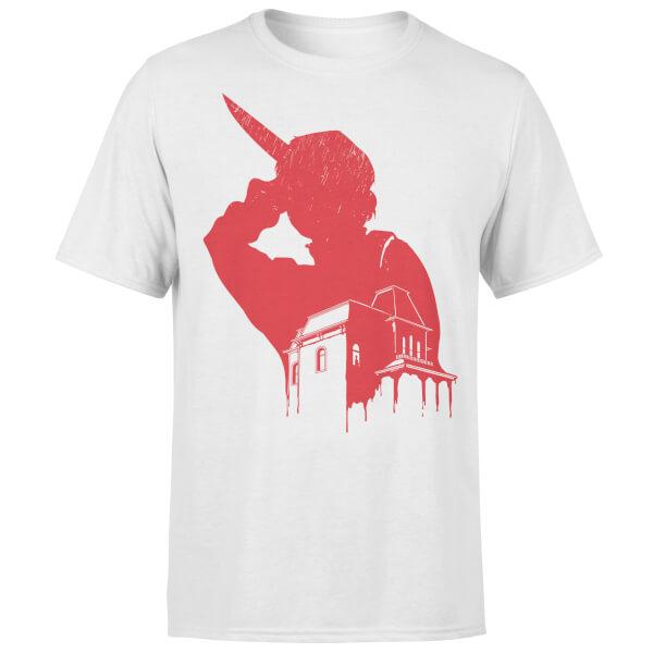T-Shirt Motel Murder -Blanc