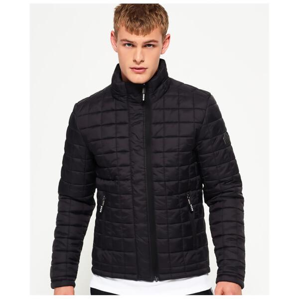 Superdry Men's Box Quilt Fuji Jacket - Black