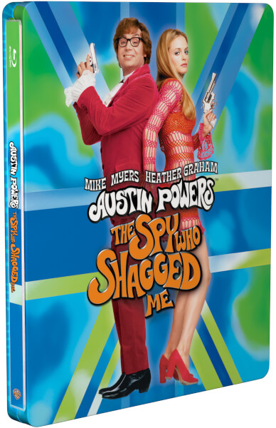 Austin Powers - The Spy Who Shagged Me - Zavvi Exclusive Limited Edition Steelbook