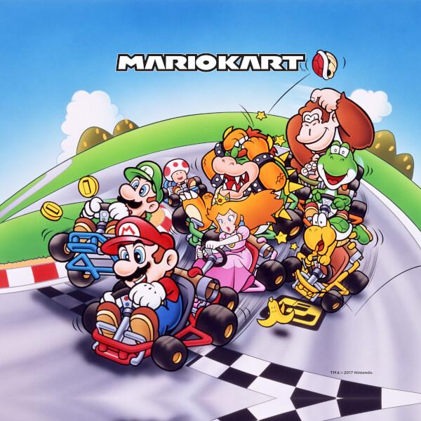 Nintendo Mario Kart Canvas