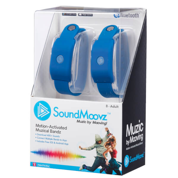 SoundMoovz Musical Bandz - Navy Blue