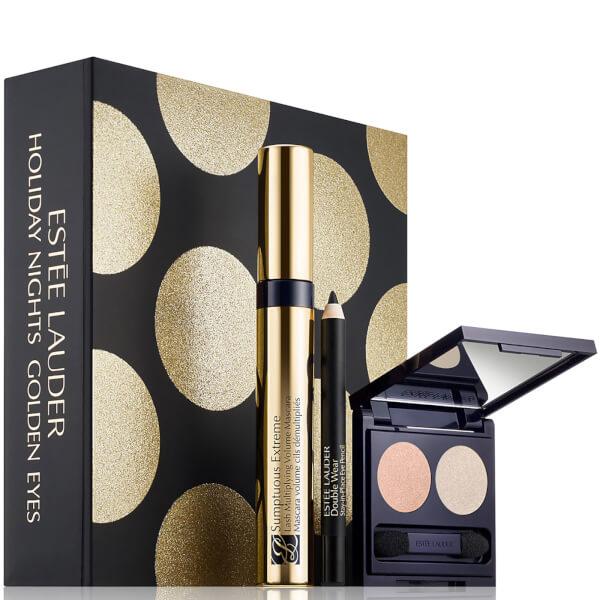 Estée Lauder Holiday Nights Golden Eyes Kit