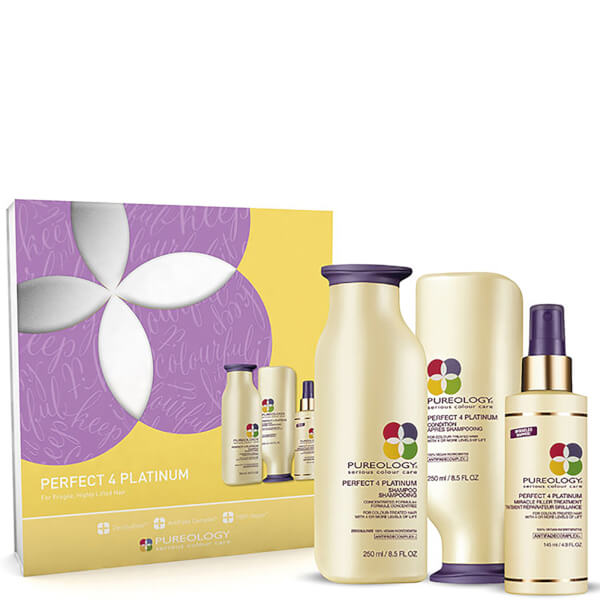 Pureology Perfect 4 Platinum Christmas Gift Set (Worth £60.50 ...