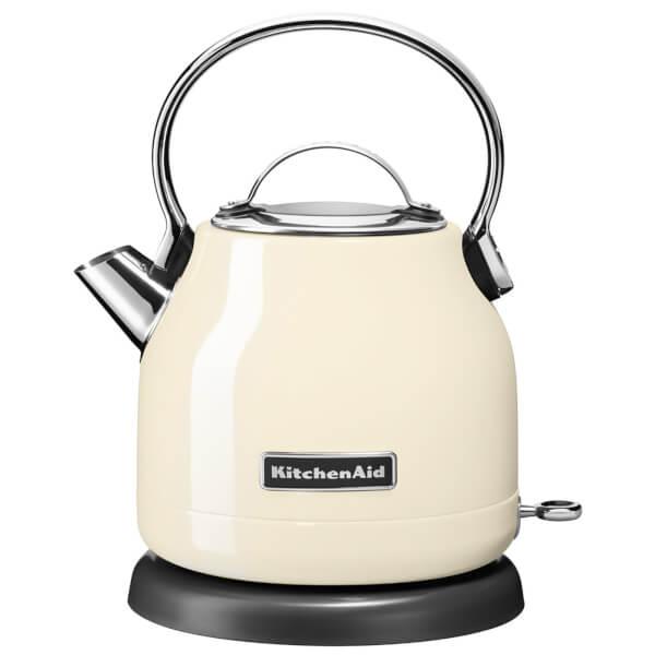KitchenAid 5KEK1222BAC 1.25L Traditional Dome Kettle - Almond Cream