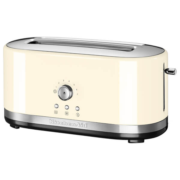 KitchenAid 5KMT4116BAC Manual Control 4 Slice Toaster - Almond Cream