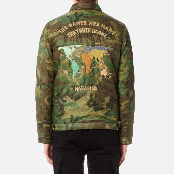 Maharishi mens maha world tour jacket woodland free uk delivery maharishi mens maha world tour jacket woodland image 2 gumiabroncs Gallery
