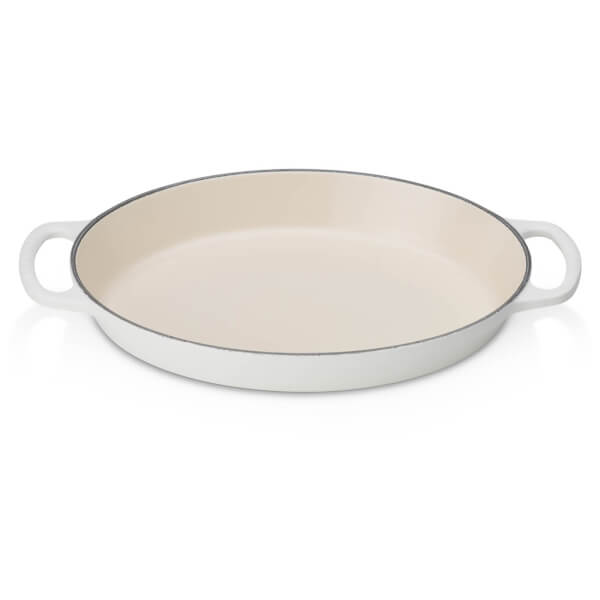 Le Creuset Signature Cast Iron Oval Gratin Dish - 28cm - Cotton