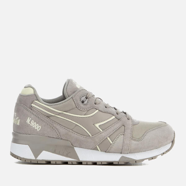 Diadora Men's N9000 III Trainers - Paloma/Antique White
