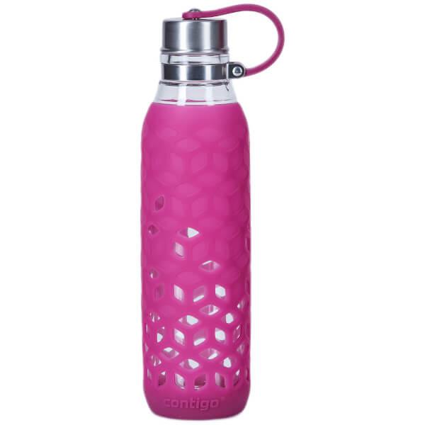 Contigo Purity Glass Drinks Bottle (590ml) - Very Berry