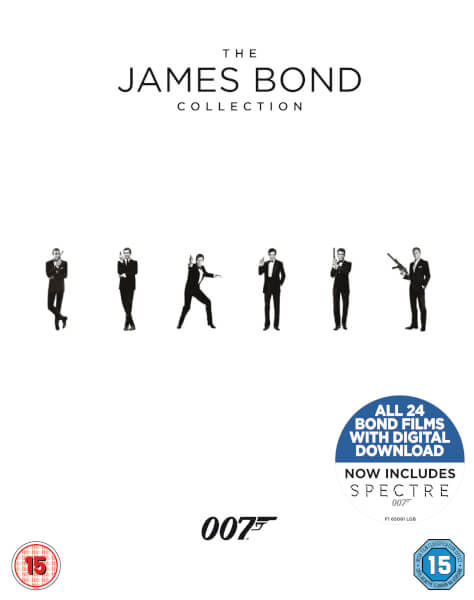 The James Bond Collection 1-24