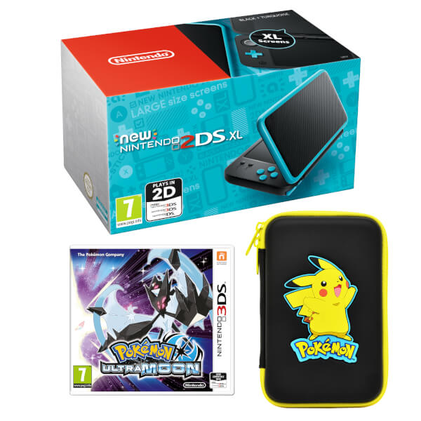 New Nintendo 2DS XL Pokémon Ultra Moon Pack