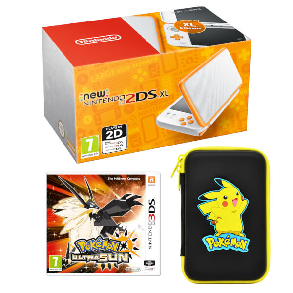 New Nintendo 2DS XL Pokémon Ultra Sun Pack