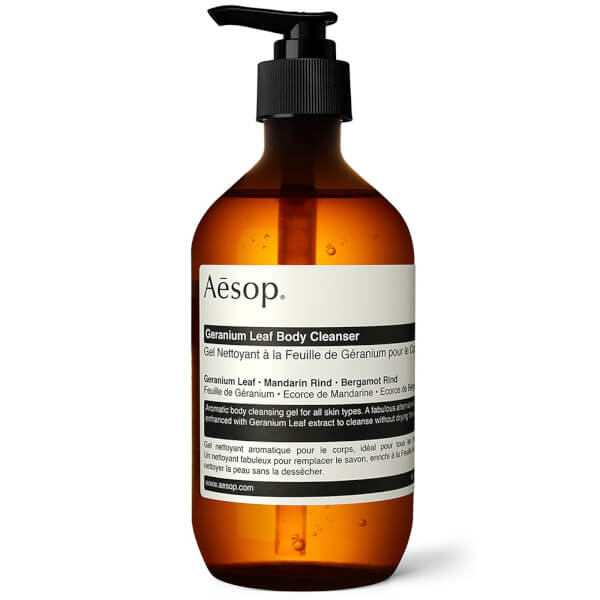 Aesop Geranium Leaf Body Cleanser Gel 500ml