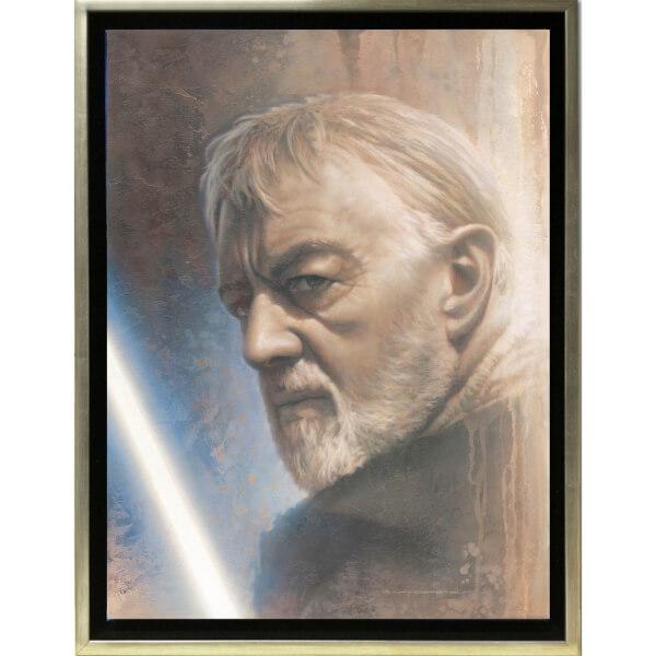 Lucasfilm Star Wars: A New Hope Timeless Print Series - Obi-Wan by Jerry Vanderstelt (Framed)