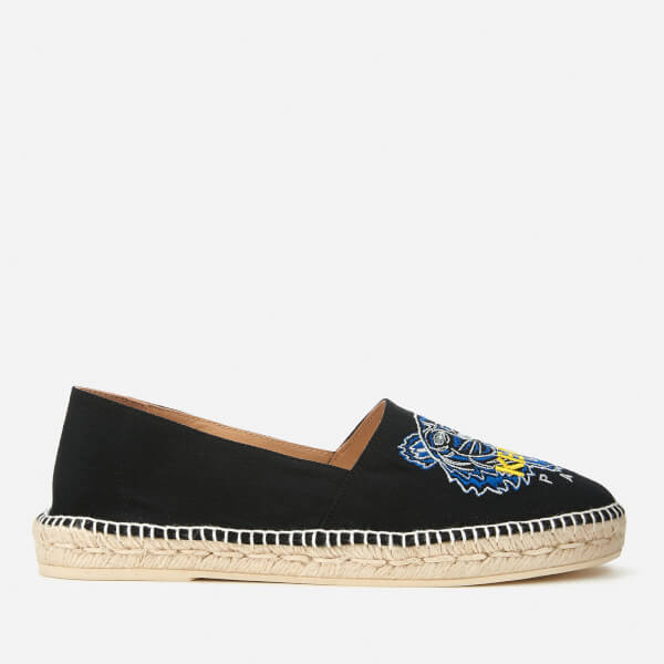Kenzo Men's Canvas Tiger Head Classic Espadrilles - - EU 43/UK 9.5
