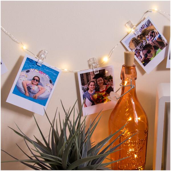 Photo Peg String Lights Traditional Gifts Thehut Com