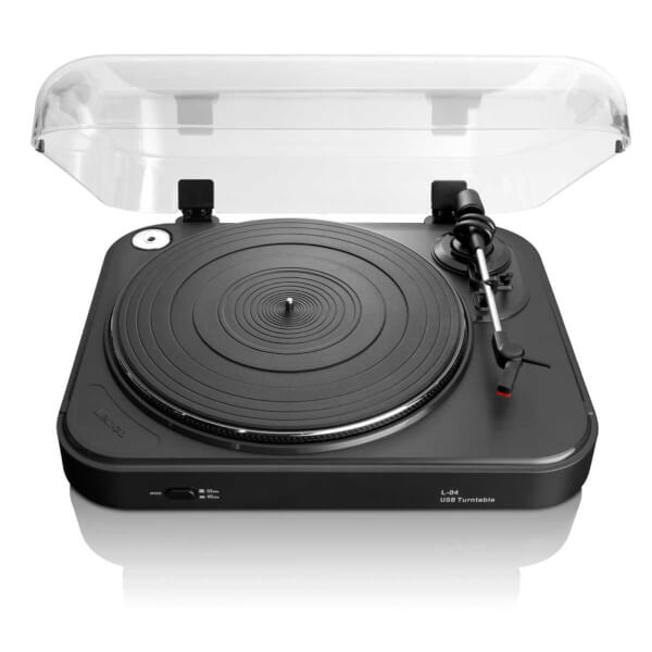 Lenco L-84 Turntable with USB Connection - Black