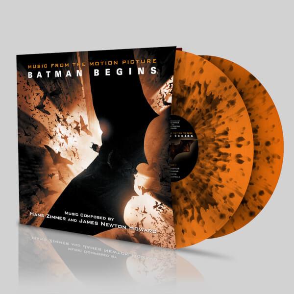 Batman Begins: Soundtrack OST – Zavvi Exclusive - Limited Coloured Black on Orange (500 Worldwide Only)