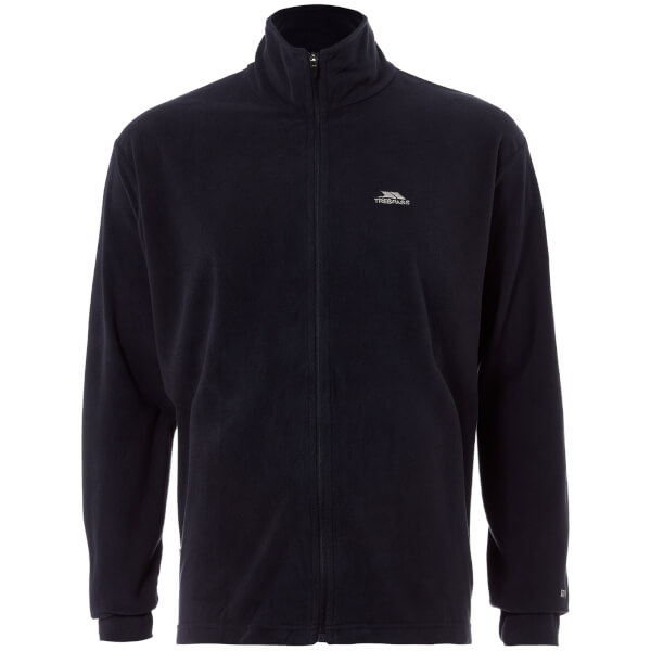 Trespass Men's Ant Full Zip Fleece - Navy